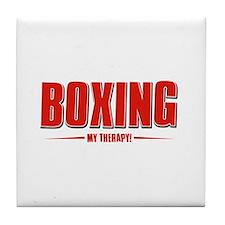 Boxing Designs Tile Coaster