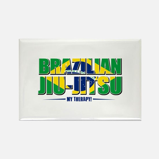 Brazilian Jiu Jitsu Designs Rectangle Magnet