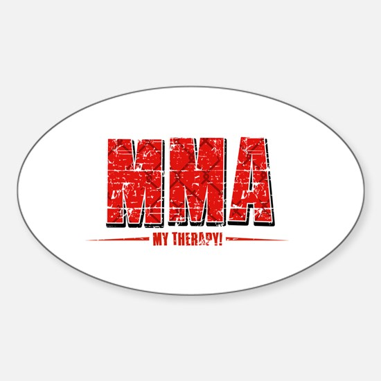 MMA Designs Sticker (Oval)