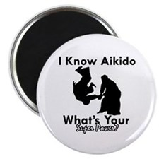 Aikido Is My Superpower Magnet