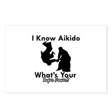 Aikido Is My Superpower Postcards (Package of 8)