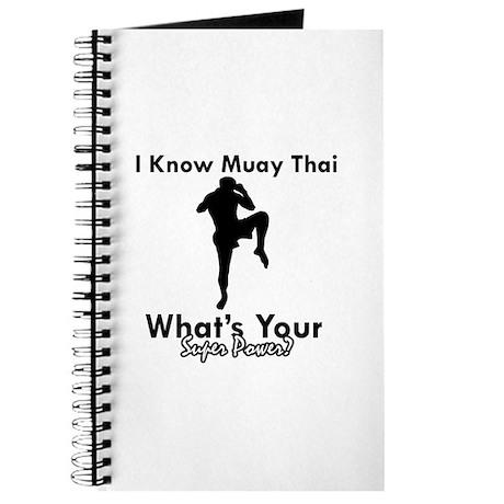 Muay Thai Is My Superpower Journal