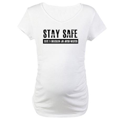 Brazilian Jiu Jitsu Designs Maternity T-Shirt