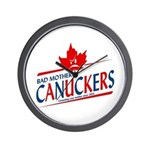 Canadian with Attitude Wall Clock