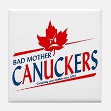 Canadian with Attitude Tile Coaster