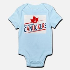 Canadian with Attitude Infant Creeper