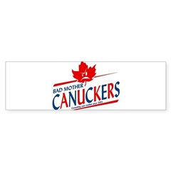 Canadian with Attitude Bumper Bumper Sticker