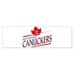 Canadian with Attitude Bumper Bumper Sticker