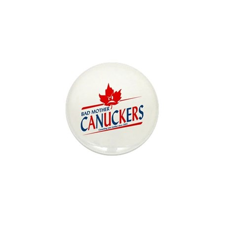 Canadian with Attitude Mini Button