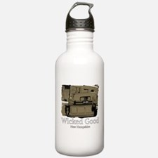 Wicked Good-NH-1-Sepia.png Water Bottle