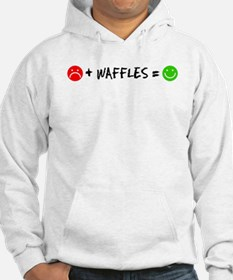 Plus Waffles Equals Happy Hoodie