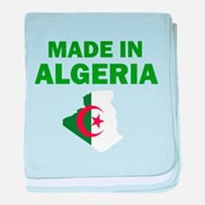 Made In Algeria baby blanket