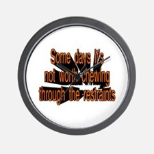 Funny Bad day Wall Clock
