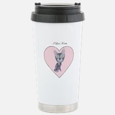 I Love Korats Travel Mug