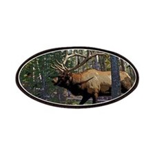 Bull elk Patches