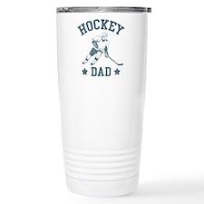 Hockey Dad Travel Coffee Mug