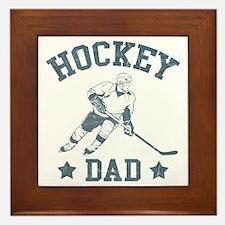 Hockey Dad Framed Tile