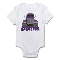 Trucker Donna Infant Bodysuit