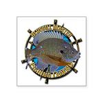 Bluegill Master Square Sticker 3