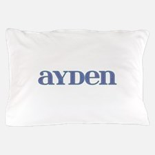 Ayden Blue Glass Pillow Case