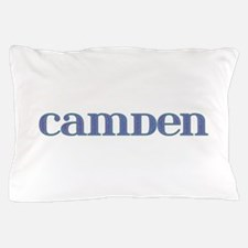 Camden Blue Glass Pillow Case