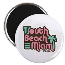 South Beach Miami Florida Magnet