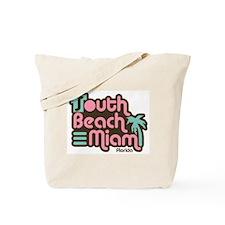 South Beach Miami Florida Tote Bag
