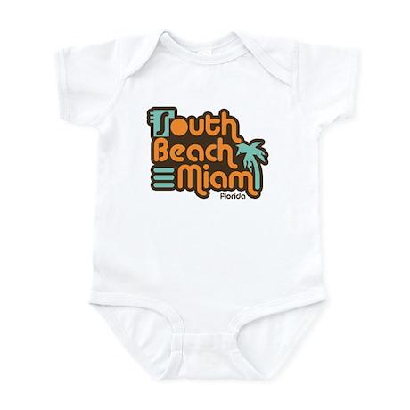 South Beach Miami Florida Infant Creeper