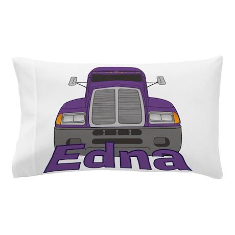 Trucker Edna Pillow Case