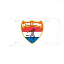 Netherlands World Cup Soccer Aluminum License Plat