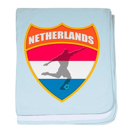 Netherlands World Cup Soccer baby blanket