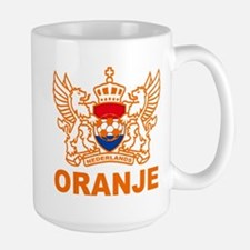 Netherlands World Cup Soccer Large Mug