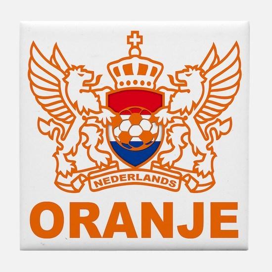 Netherlands World Cup Soccer Tile Coaster
