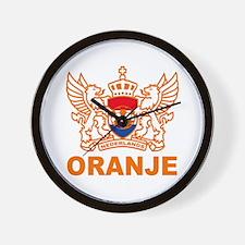 Netherlands World Cup Soccer Wall Clock
