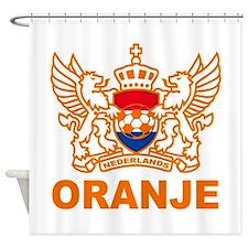 Netherlands World Cup Soccer Shower Curtain