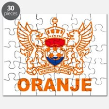Netherlands World Cup Soccer Puzzle