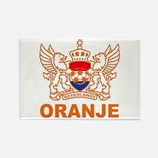 Netherlands World Cup Soccer Rectangle Magnet