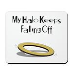 Halo Keeps Falling Off Mousepad