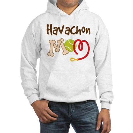 Havachon Dog Mom Hooded Sweatshirt