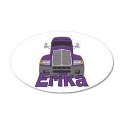 Trucker Erika Wall Decal