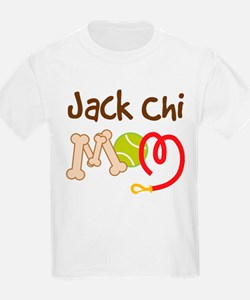 Jack Chi Dog Mom T-Shirt