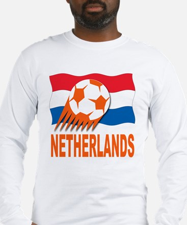 Netherlands World Cup Soccer Long Sleeve T-Shirt
