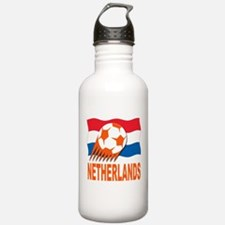 Netherlands World Cup Soccer Water Bottle