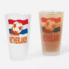 Netherlands World Cup Soccer Drinking Glass