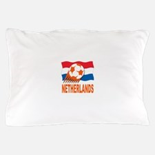 Netherlands World Cup Soccer Pillow Case