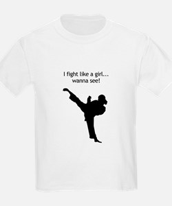 fight like a girl.tif T-Shirt