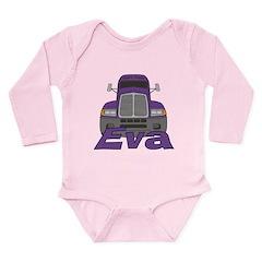 Trucker Eva Long Sleeve Infant Bodysuit