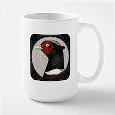 Ringneck Pheasant Circle Large Mug