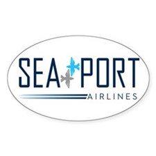 SeaPort Airlines logo Decal
