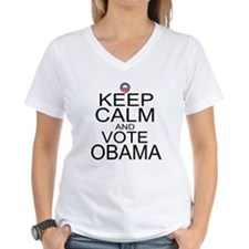 Keep Calm and Vote Obama Shirt